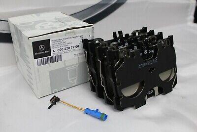 Genuine Mercedes-Benz X253 GLC AMG FRONT Brake Pads & Sensor A0004207900 NEW