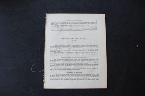 1868 Fachbericht Zeitschrift Bergbau / Saarbrücken Steinkohle 15 Seiten