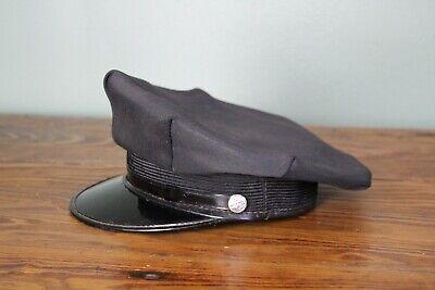 Vintage Railroad RR Train Conductor Hat Cap Officer Uniform - Conductor Hat