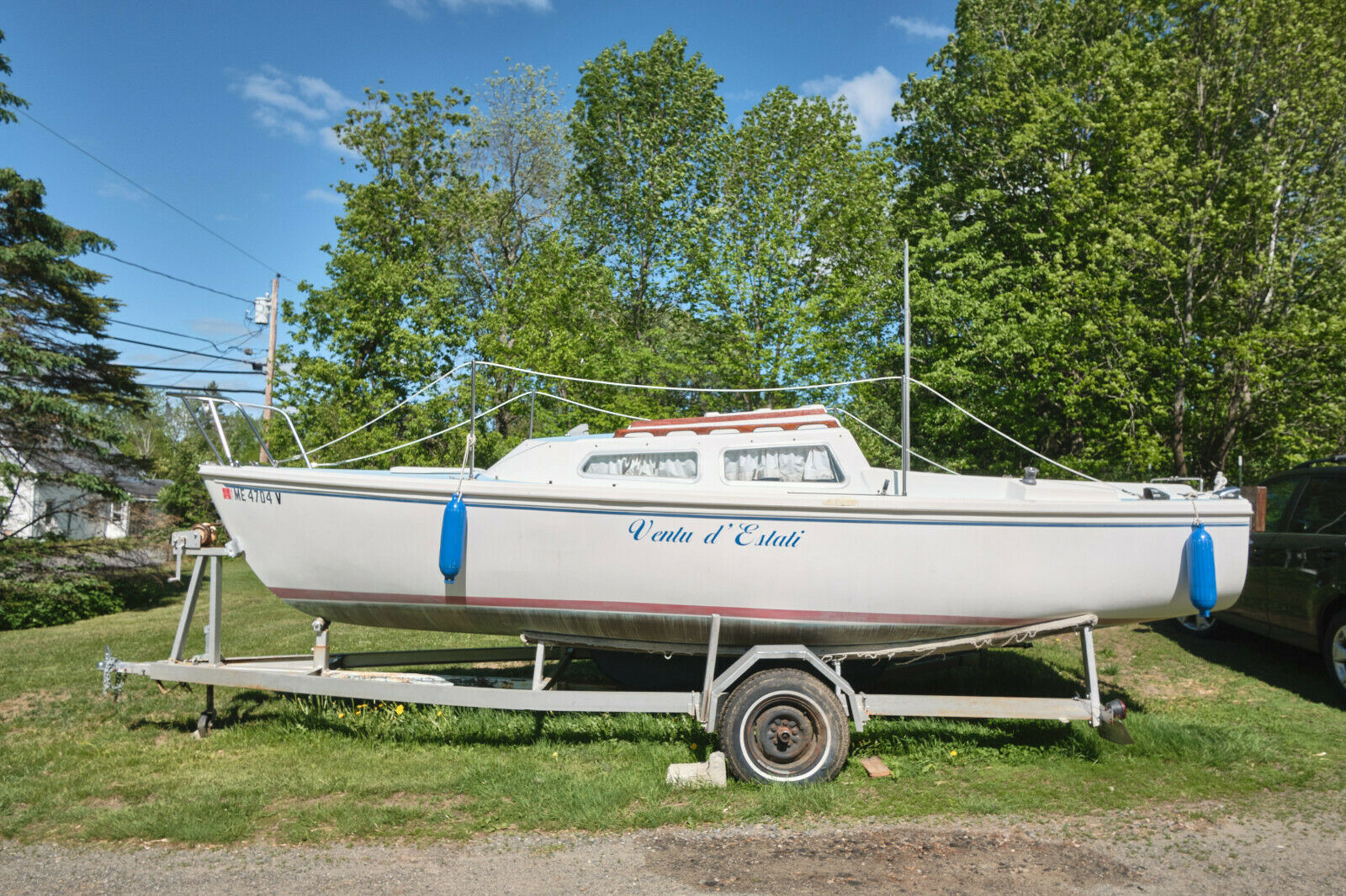 Price Reduced for this Weekend! Make Offer: 1972 Catalina 22 Sailboat