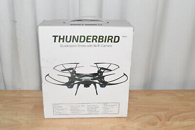 Sky Rider Thunderbird Quadcopter Drone with Wi-Fi Camera, DRW389, Deathly