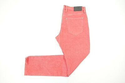 Michael Kors Descolorido Mar Rojo Coral Rosa 38X30 Parker Delgado Elástico Jeans