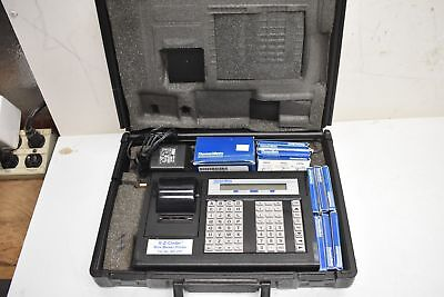 Thomas Betts E-z Code Wire Marker Printer Wd-25p W Marker Roll Cart Ribbons