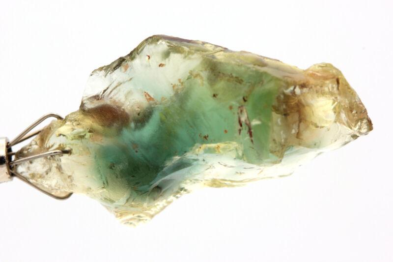 OREGON SUNSTONE - BLUE GREEN TEAL RED Color Facet Grade Rough Gemstone - 39.05ct