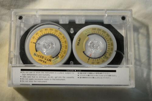 TEAC Cassette Torque Meter Test Tape MTT-8331N, New