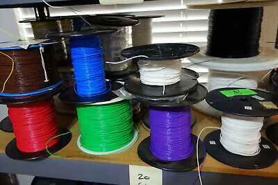 50 Feet 20 Awg Solid Core 600v Teflon Wire