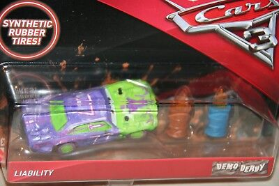 """DISNEY PIXAR CARS 3  """"LIABILITY""""  NEW IN PACKAGE, SCALE  1:55, SHIP WORLDWIDE"""
