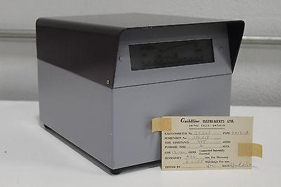 Guildline Galvanometer 9413-a Advanced Instruments 25608 Coil Res 555 Ohms