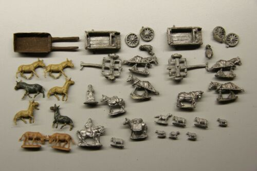 15mm Wagons cattle crew Wargames Tracking/Expedited mail