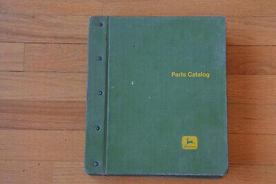 John Deere Green Binder Mulch Tillers Harrows Rotary Hoes Parts Catalog