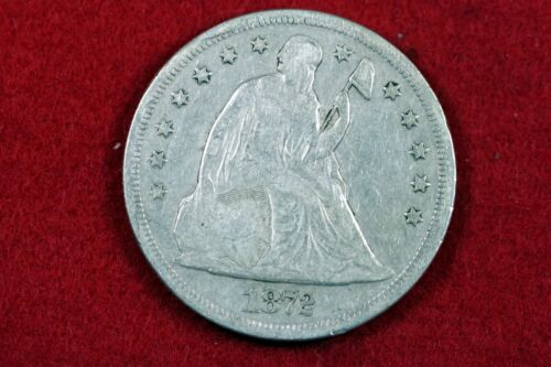 1872 - Seated Liberty Silver Dollars One Dollar!!  #H13938