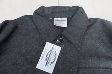 Worksense Outdoor World Woollen Jacket  Lined Charcoal Size Small Pakenham Cardinia Area Preview