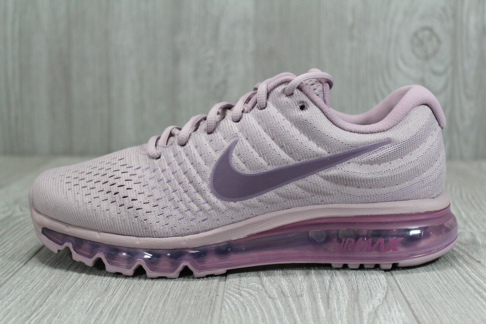 43 Nike Air Max 2017 Plum Fog Women's Running Shoes Size 7.5-9 849560 503