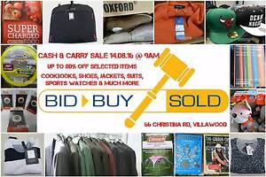 Sunday Cash & Carry Sale @ BID BUY SOLD, VILLAWOOD Villawood Bankstown Area Preview