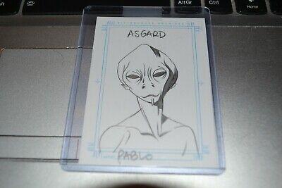 Stargate SG1 Season 5, ASGARD Sketchafex Cards PRICED TO CLEAR.