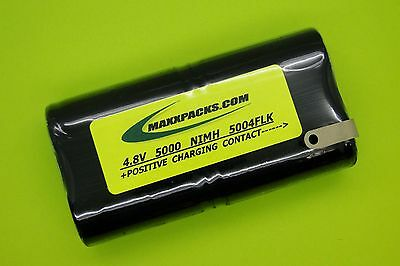 5000mah Nimh Battery 4 Fluke Scopemeter 96b 97 97auto 98auto B10858 As30006