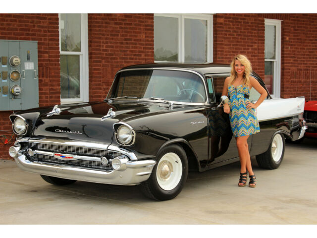 1957 chevrolet bel air 150 210 ebay for 1957 black widow 150 two door sedan