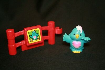 Fisher Price Little People Bird And ZOO FENCE PIECE Railing Fencing