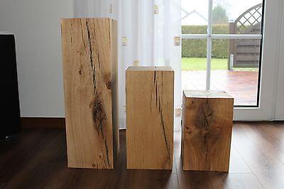 Holzblock tisch billig finden und kaufen for Holzklotz beistelltisch