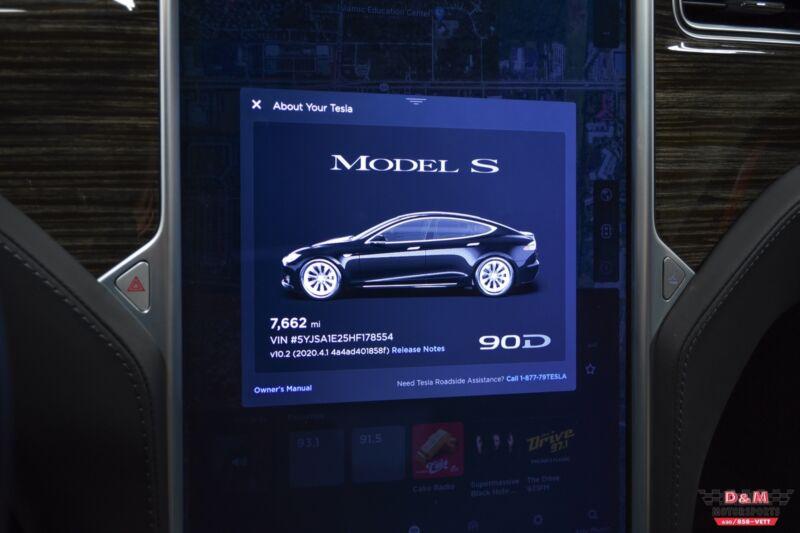 Image 16 Coche Americano usado Tesla Model S 2017