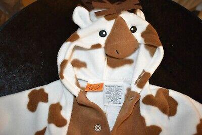 HAPPY HALLOWEEN BABY ROMPER/BODYSUIT HORSE DESIGN OUTFIT sz NEWBORN 3-6 MONTHS](Baby Halloween Outfits 3-6 Months)