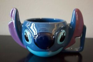 Disney Lilo & Stitch Large 3D Ceramic Coffee Cereal Mug Large *626*