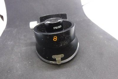 Leitz Wetzlar Ortholux 4 Place Microscope Nosepiece 1.25x W 170223 Turret Parts