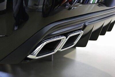 Mercedes CL W216/C216 Prior-Design V4 / Heckstoßstange + Diffusor / rear bumper