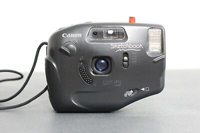 Canon SKETCHBOOK 35mm f4.5 Point and Shoot Film Camera ISO 100-400 A+++