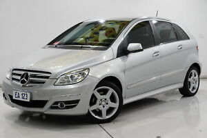 2010 Mercedes-Benz B-Class W245 MY10 B200 Silver 7 Speed Constant Variable Hatchback Brooklyn Brimbank Area Preview