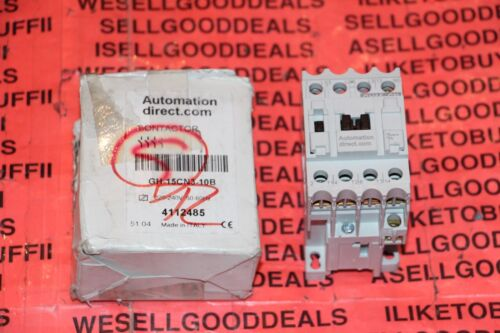 Automation Direct GH-15CN3-10B Contactor 220-240VAC 4112485 GH15CN310B New