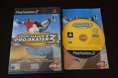 Tony Hawk's Pro Skater 3 Good Condition Manual PlayStation Two PS2 PAL UK