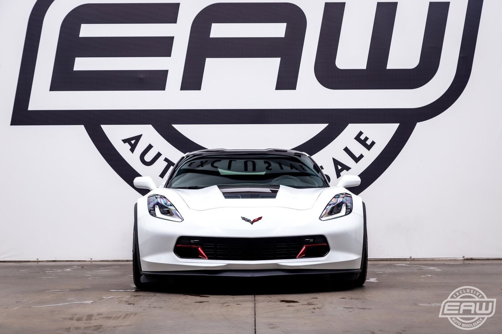 2017 White Chevrolet Corvette Grand Sport 3LT | C7 Corvette Photo 6