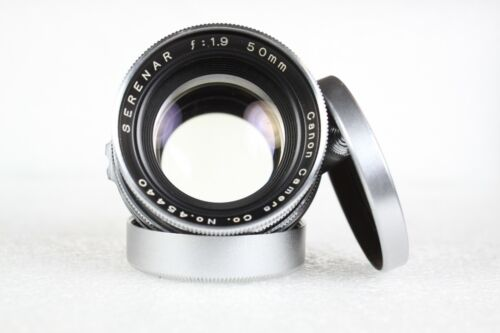 EX-Vintage Canon 50mm/f1:1.9 Serenar lens for Canon/Leica 39mm LTM mount camera