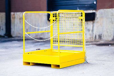 Forklift Work Platform - New - 36 X 36 Free Shipping