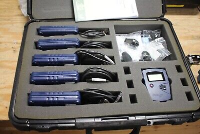 Lot Of 5 Casella Cel-320is Noise Dosimeter With Cel 1102 Calibrator