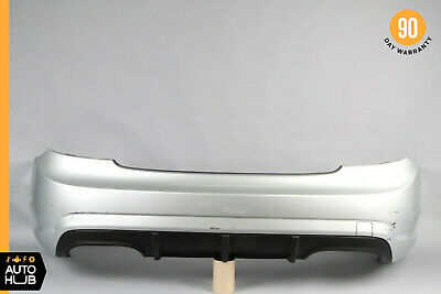 07-10 Mercedes W216 CL63 CL65 AMG Rear Bumper Cover Assembly Sport Silver