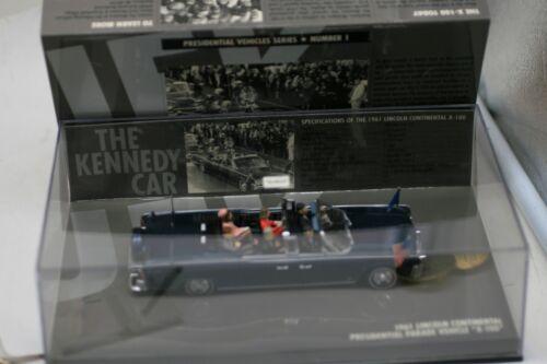 Mini champs Presidential Vehicle Series 1 John F. Kennedy Car Scale 1:43 B1
