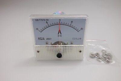 1pc Dc Minus Zero Plus -10a-10a Analog 85c1 Analogue Ammeter Amp Panel Meter