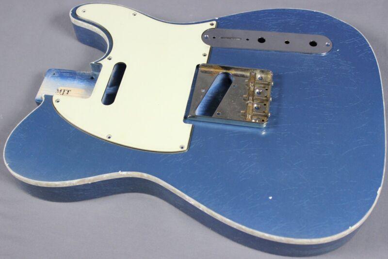 MJT Official Custom Order Vintage Aged Nitro Single Bound Guitar Body Mark Jenny