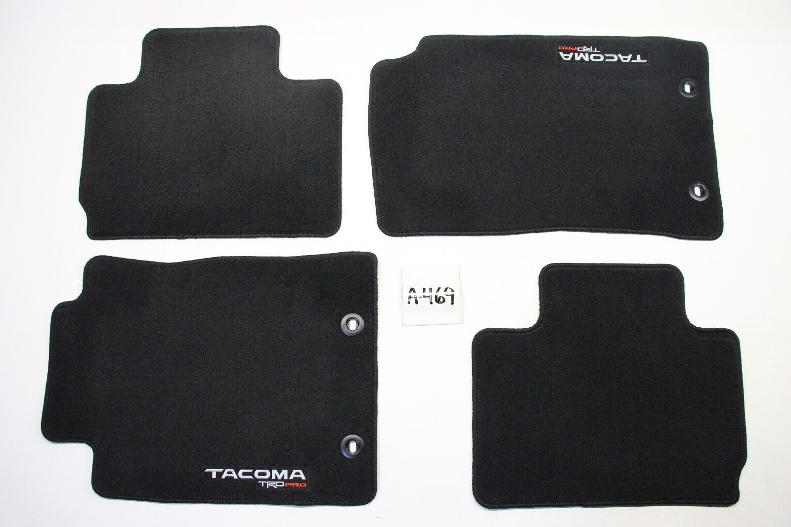 catalog and black for carpets mats oem used toyota rubber mat rugs tacoma floor double set sale cab