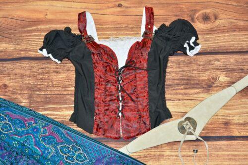 Oktoberfest blouse Traditional Bavarian Dirndl blouse top Size S
