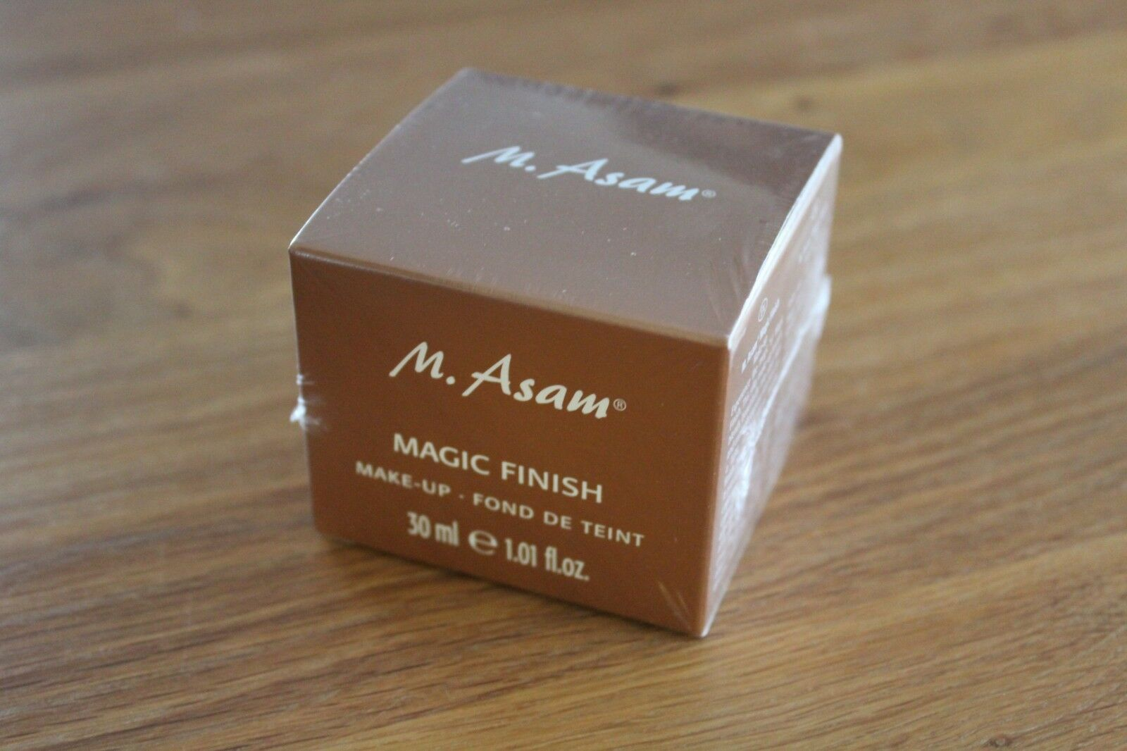 M.Asam , Magic Finish, MAKE-UP MOUSSE Faltenfüller, 30 ml , NEU & versiegelt