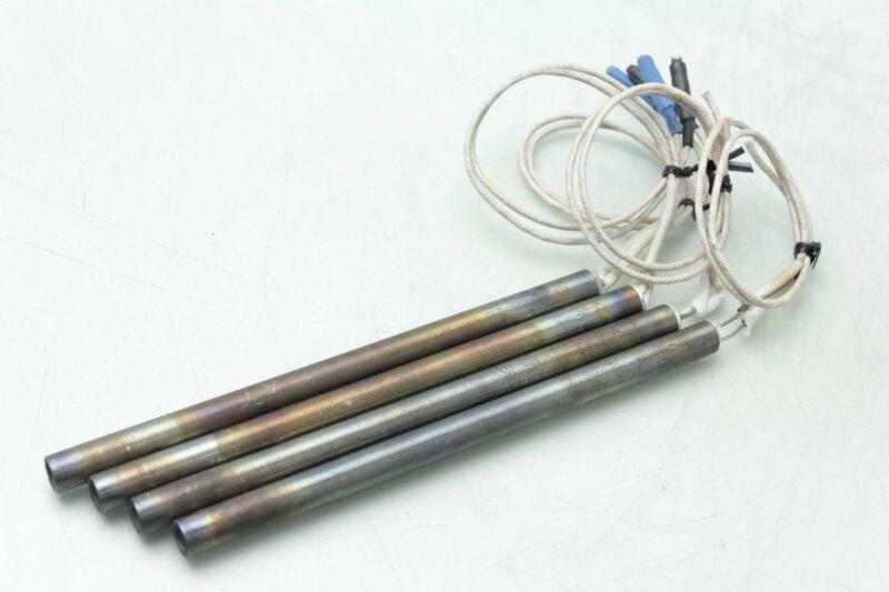 "4 Tutco CH13006 Cartridge Heaters / 8"" Length / 1000W / 240V"