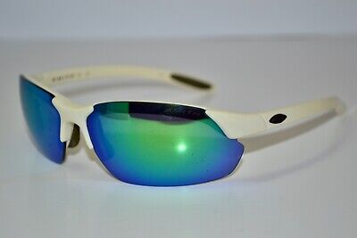 Parts Scratched SMITH Parallel Ivory Chocolate (White) Green Mirror (White Smith Sunglasses)