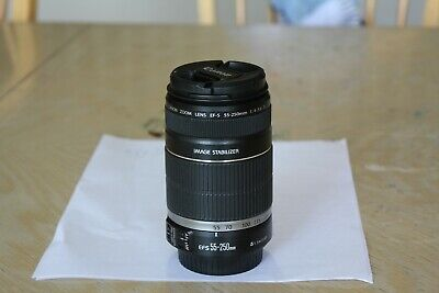 Canon EF-S 55-250mm f/4-5.6 F4-5.6 Image Stabilizer IS Telephoto Zoom Lens