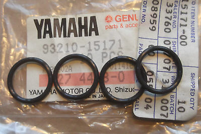 <em>YAMAHA</em> XS500  TX500  19731978  GENUINE ROCKER SHAFT O RING SET    93