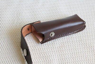 Taschenmesser-Etui Messertasche,Gürtelholster,Messer Gürteltasche.Leder. Wie neu