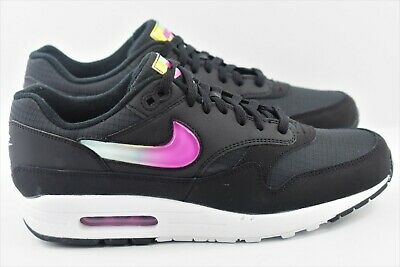73281af1ec Nike Air Max 1 SE Mens Size 10 Shoes Black Jewel Swoosh Jelly Pink AO1021  003