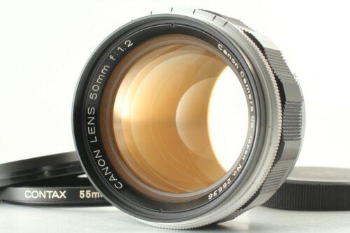 🔹N MINT++🔹 Canon 50mm f1.2 MF Lens Leica Screw L Mount LTM L39 from Japan